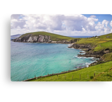 View to Dunmore Head - County Kerry - Ireland Canvas Print