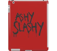 Ashy Slashy! iPad Case/Skin