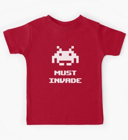 Must Invade Kids Tee