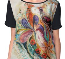The Splash Of Life. Composition 1 Chiffon Top