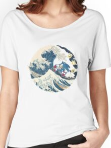 Sonic the Hedgehog - Hokusai Women's Relaxed Fit T-Shirt