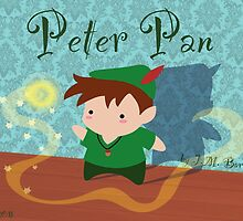 Cute Peter Pan by Adriana Cruz Berdecia