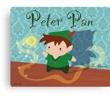 Cute Peter Pan Canvas Print