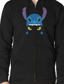 Toothless & Stitch Zipped Hoodie