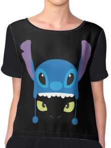 Toothless & Stitch Chiffon Top