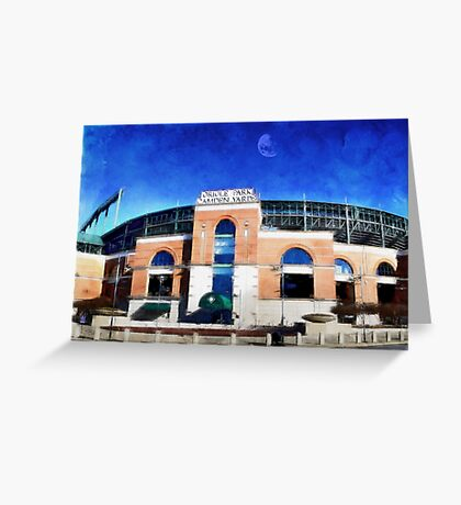 Oriole Park at Camden Yards,  Baltimore, Md. Greeting Card