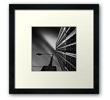Cadillac Tower Framed Print