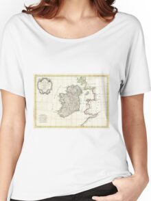 Vintage Map of Ireland (1771) Women's Relaxed Fit T-Shirt