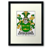 O'Kane Coat of Arms (Irish) Framed Print