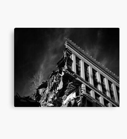 Corner Office Canvas Print