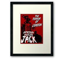 Spring Heeled Jack Framed Print