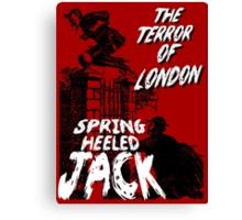 Spring Heeled Jack Canvas Print
