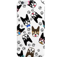 Cute Boston Terrier Illustration iPhone Case/Skin