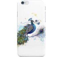Blue Paisley Peacock iPhone Case/Skin