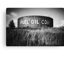 Fuel Oil Corp Canvas Print