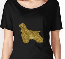 cocker spaniel | Gold Women's Relaxed Fit T-Shirt