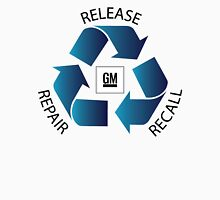 GM Recall and Repair Logo Parody Unisex T-Shirt