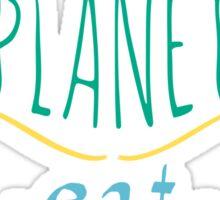 save the planet, EAT HUMANS - doodle Sticker