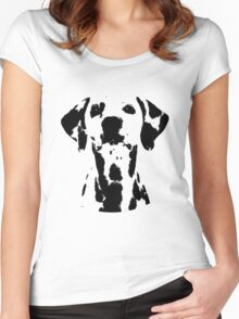 Dalmatian | Dogs Women's Fitted Scoop T-Shirt