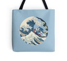 Sonic the Hedgehog - Hokusai Tote Bag