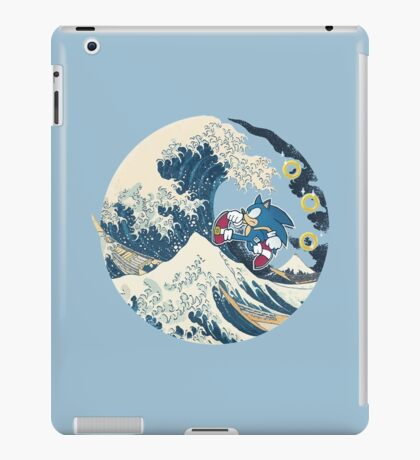 Sonic the Hedgehog - Hokusai iPad Case/Skin