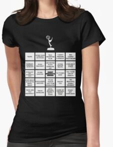 Emmy Awards Show Bingo Womens Fitted T-Shirt
