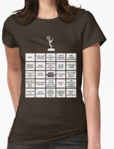 Emmy Awards Show Bingo Womens Fitted T-Shirt