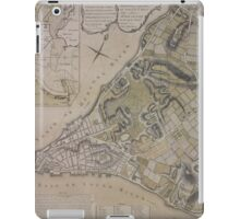 443 Plan of New York City of New York and its environs to Greenwich Town Survey'd in the winter 1775 iPad Case/Skin