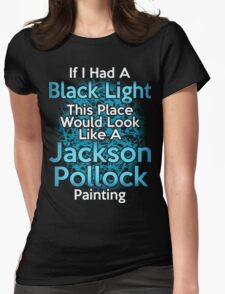 If I had a Black Light... Womens Fitted T-Shirt