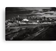 The Motor City Canvas Print