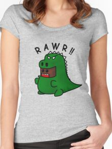 Domosaur Women's Fitted Scoop T-Shirt