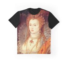 Elizabeth I Portrait Graphic T-Shirt