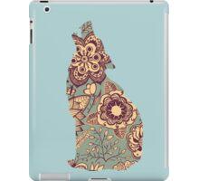 Patterned Wolf 1 iPad Case/Skin