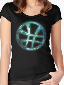 Strange - Sky Women's Fitted Scoop T-Shirt
