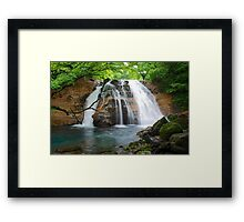 Japan waterfall Framed Print
