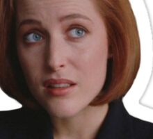 Sassy Scully sticker 2 Sticker