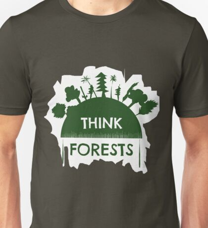 Think forests Unisex T-Shirt