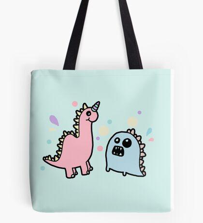 Cute Dino Monsters Tote Bag