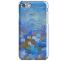Scale Blue Abstract Painting iPhone Case/Skin