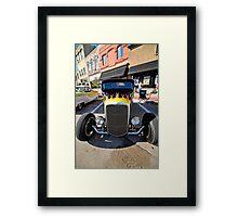 Fast Flames 1 Framed Print