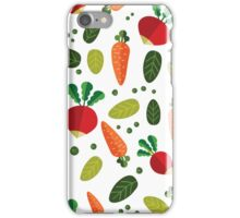 Healthy Colorful Vegetables Pattern iPhone Case/Skin