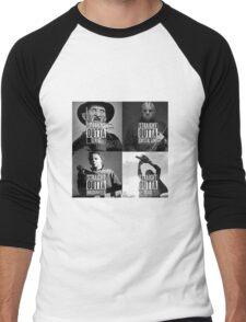straight outta horror film Men's Baseball ¾ T-Shirt