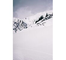 Slope In Zillertal Photographic Print