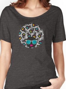 Black cats Women's Relaxed Fit T-Shirt