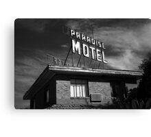 Route 66 - Paradise Motel Canvas Print