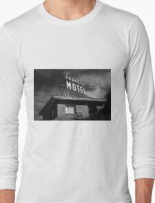 Route 66 - Paradise Motel Long Sleeve T-Shirt