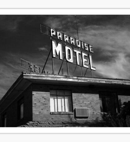 Route 66 - Paradise Motel Sticker