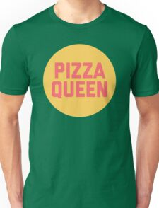 Pizza Queen Funny Quote (Graphic) Unisex T-Shirt