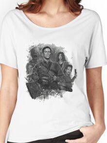 Ash Vs Evil Dead Women's Relaxed Fit T-Shirt