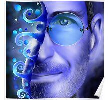 Joblerium - blue portrait Poster